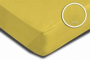 Spannbettlaken 80 X 180 : spannbettlaken spannbetttuch gelb 180 x 200 cm 200 x 200 cm jersey baumwolle spannbettlaken ~ Eleganceandgraceweddings.com Haus und Dekorationen