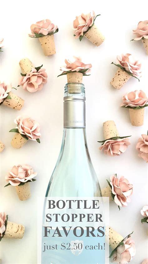 bottle stopper wedding favors wedding flowers