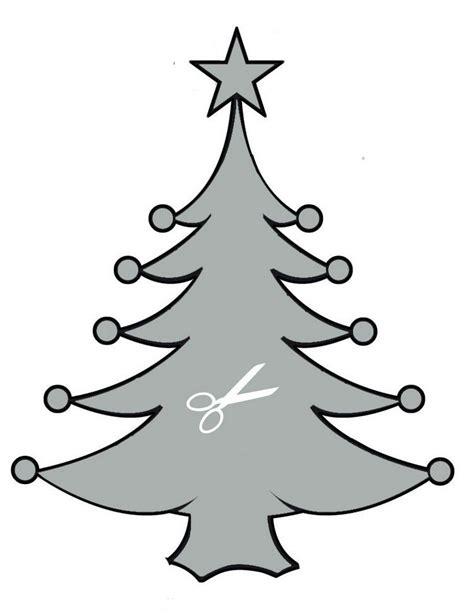 Fensterbilder Schablonen Zum Ausdrucken Weihnachten schablone weihnachtsbaum zum ausschneiden vorlagen