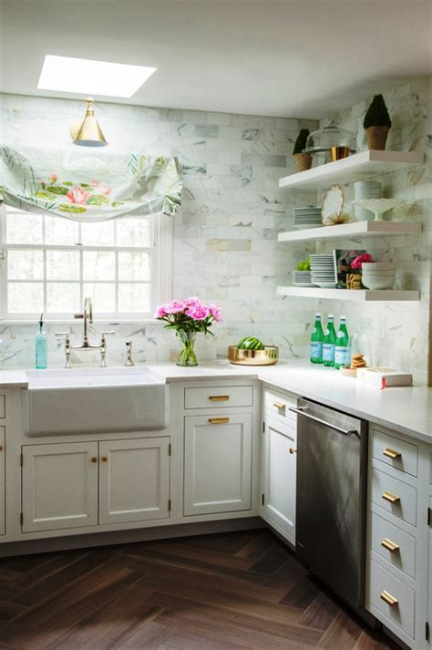 Красивый дизайн кухни в американском стиле  Фото Дизайн