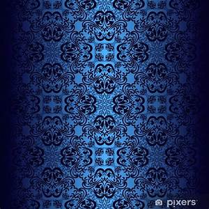 Papier Peint Bleu Foncé : papier peint papier peint bleu fonc pixers nous vivons pour changer ~ Melissatoandfro.com Idées de Décoration