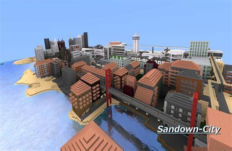 minecraft map ville moderne galerie ma ville sandown city minecraft