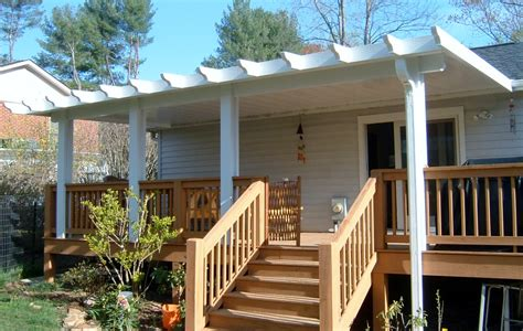 Pergola Mit Dach by Gallery Of Pergolas Patio Covers Asheville Nc Air