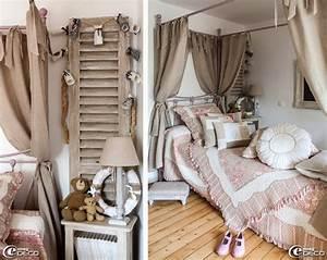 Guirlande Accroche Photo : table de chevet qui s 39 accroche au lit ~ Teatrodelosmanantiales.com Idées de Décoration