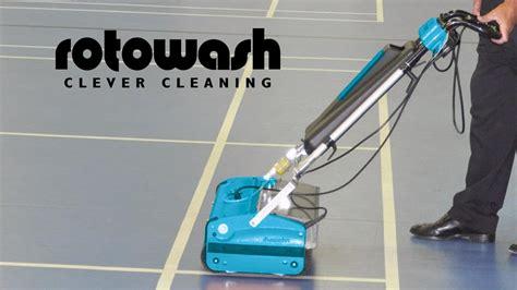 surface floor cleaning machines rotowash hard surface floor cleaning machine youtube
