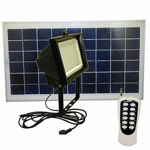 Leds solar flood light with remote control greenlytes