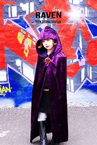 Raven Teen Titan Costume DIY