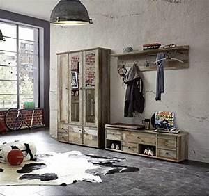 Garderobe Set Garderobenschrank Flurgarderobe