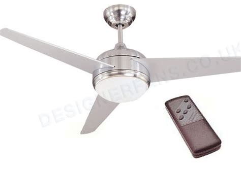 global mercury 52 inch stainless steel finish ceiling fan