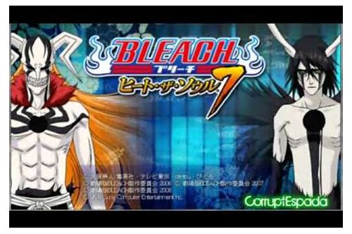 bleach 7 psp cso download