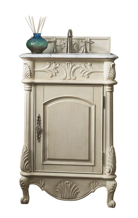 vintage looking bathroom vanity 24 inch antique single sink bathroom vanity vintage vanilla finish marble top