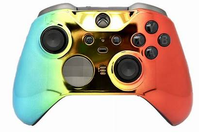 Xbox Controller Rainbow Elite Chrome Controllers Side