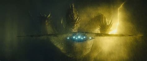Check Out An Epic New Shot Of King Ghidorah From 'godzilla