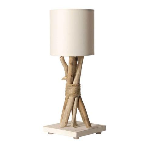 alinea luminaire chambre le de chevet bois flotté abat jour blanc en vente sur