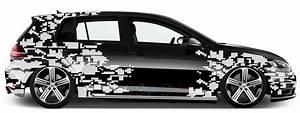 Hologramm Aufkleber Auto : auto seiten aufkleber 2 teilig camouflage pixel fleck tarn ~ Jslefanu.com Haus und Dekorationen