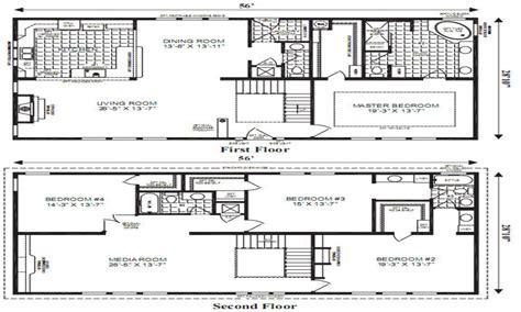 open floor plans small home modular home floor plans