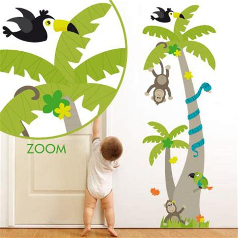 stickers animaux chambre b饕 best stickers chambre bebe jungle images amazing house design getfitamerica us