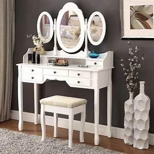 Meuble Coiffeuse But : pourquoi acheter un meuble coiffeuse et comment le monter ~ Teatrodelosmanantiales.com Idées de Décoration