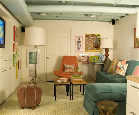 before and after drab to dapper basement makeover