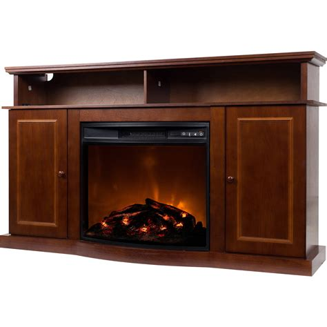 tv stand  fireplace media console electric
