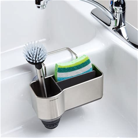 kitchen sink caddies simplehuman sink caddy reviews the container 2603