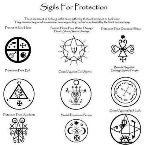 sigils  protection esoteric pinterest posts