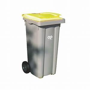 Poubelle 120 Litres : conteneur d chets 120 litres plastic omnium tri s lectif ~ Melissatoandfro.com Idées de Décoration