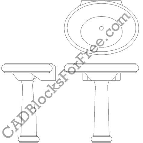 Bathroom Sinks Cad Blocks by Cadblocksforfree Bathroom Sinks Uploaded