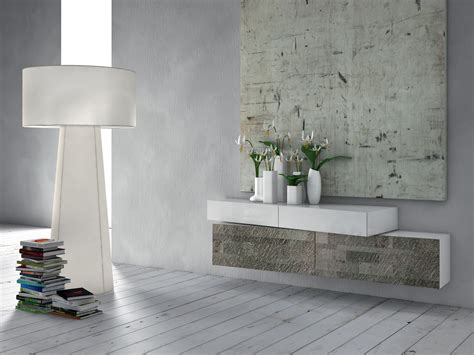 Inclinart Stone Suspended Sideboard By Presotto Industrie