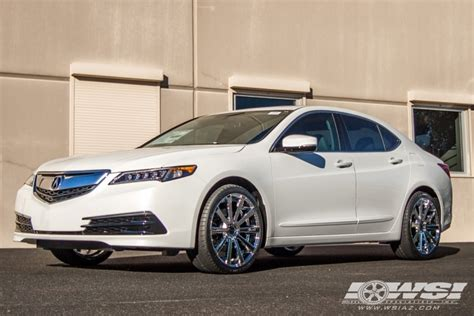 2016 acura tlx with 20 quot gianelle santoneo in chrome wheels
