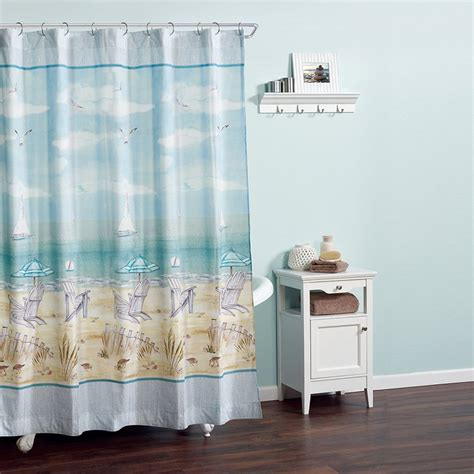 Coastal Shower Curtain by 17 Ideas Of Wall Decor And Other Accessories