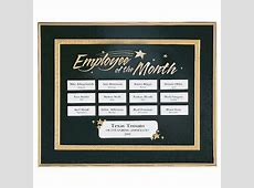 Employee of the Month Perpetual Recognition Program at
