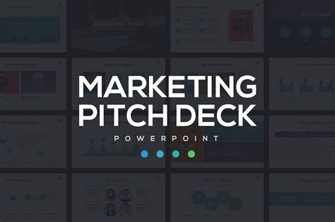 pitch deck template powerpoint marketing pitch deck powerpoint presentation templates creative market