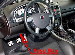 Fuse Box Diagram Pontiac Gto  2004