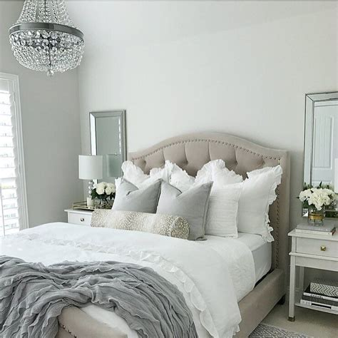 Bedroom Colour Inspo by Thedecordiet On Instagram Tufted Bed Nicolette Bed