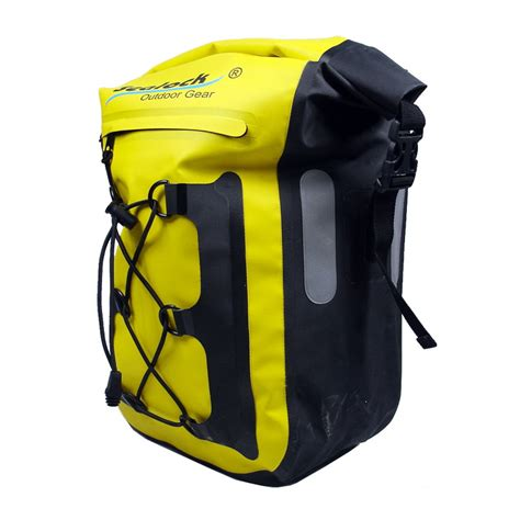 bike waterproofs sealock waterproof bicycle bag yellow waterproof bicycle bag