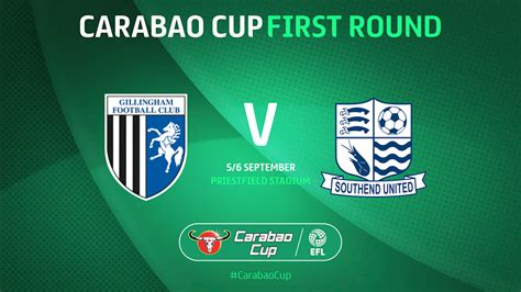 Carabao Cup Round One Draw Details - News - Southend United