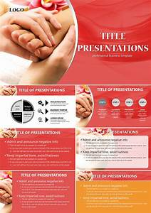 Foot Spa Powerpoint Templates Imaginelayout Com