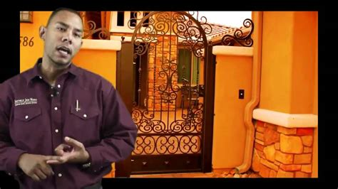 ornamental wrought iron fences  gates  tucson youtube