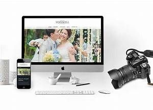With wedding photography website design