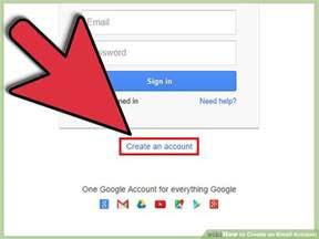 ways  create  email account wikihow