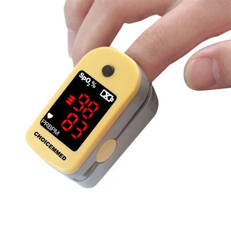 Finger Pulse Oximeter   Healthhype.com