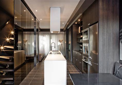 Contemporary Townhouse Interior by Cecconi Simone