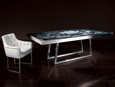 Table Or Table by Nella Vetrina Rugiano Decorama 4023 Upholstered Dining Table