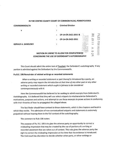 Motion In Limine Template by United States Motion In Limine Concerning United States