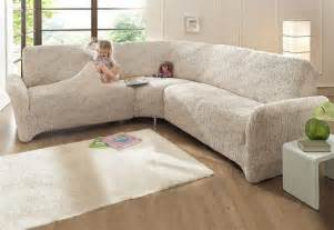 husse sofa ecksofa husse beige stretchhusse sofahusse husse stretch sofa bezug ebay