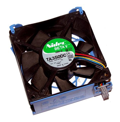 nidec ta350dc fan dell f2674 poweredge 2800 fan assembly fan t5994 nidec