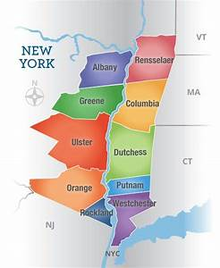 Explore the different counties that make up the Hudson ...