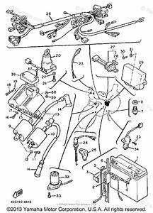 Yamaha Motorcycle 1985 Oem Parts Diagram For Electrical