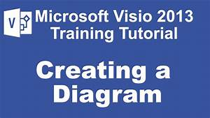 Microsoft Visio 2013 Training Tutorial - Creating A Diagram